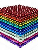 baratos Sutiãs-216 pcs 5mm Brinquedos Magnéticos Bolas Magnéticas / Blocos de Construir / Cubo de quebra-cabeça Ímã de Neodímio Faça Você Mesmo Unisexo Crianças / Adulto Dom