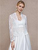 Χαμηλού Κόστους Λουλουδάτα φορέματα για κορίτσια-Δαντέλα Γάμου / Πάρτι / Βράδυ Γυναικείες εσάρμπες Με Δαντέλα Παλτό / Ζακέτα