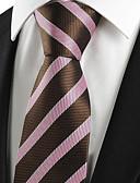 olcso Férfi nyakkendők és csokornyakkendők-Férfi Csíkos Csíkos - Nyakkendő