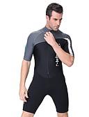 お買い得  メンズフーディー&スウェットシャツ-Dive&Sail 男性用 エラステイン ダイビングスーツ 速乾性 伸縮性 長袖 潜水 ファッション 春 夏 / 伸縮性あり