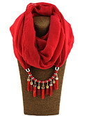 cheap Fashion Scarves-Women's Classic & Timeless Infinity Scarf - Solid Colored, Modern Style