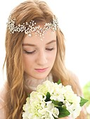 cheap Wedding Dresses-Crystal / Imitation Pearl Headbands / Headwear / Head Chain with Floral 1pc Wedding / Special Occasion / Birthday Headpiece