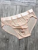 cheap Men's Underwear & Socks-Men's Super Sexy Briefs Underwear Solid Colored