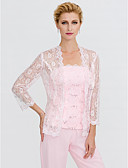 cheap Prom Dresses-3/4 Length Sleeve Lace Wedding / Party / Evening Women's Wrap With Lace Coats / Jackets