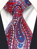 olcso Férfi nyakkendők és csokornyakkendők-Férfi Színes / Paisley / Jacquardszövet Alap Munkahelyi - Nyakkendő