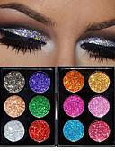 cheap Ice Skating Dresses , Pants & Jackets-Makeup 6 Eyeshadow Palette / Eye Shadow / Powders Cosmetic Professional Long Lasting Daily Makeup / Halloween Makeup / Party Makeup Makeup Cosmetic / Shimmer