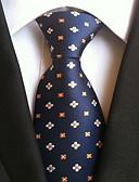 baratos Gravatas e Gravatas Borboleta-Homens Trabalho / Básico Gravata Pontos