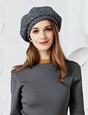 cheap Fashion Hats-Wool / Fabric Hats with 1 Wedding / Party / Evening Headpiece