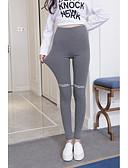 cheap Leggings-Women's Sporty Legging - Letter, Print High Waist / Sporty Look