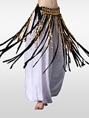 halpa Vatsatanssiasut-Vatsatanssi Lantiohuivit Naisten Kouluts Polyesteri Paljetein koristeltu Metalli Tupsuilla Lantiohuivi vatsatanssiin