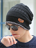 cheap Men's Sweaters & Cardigans-Men's Work Sweater Floppy Hat - Solid Colored Sporty Knitted
