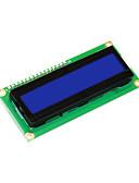 tanie Pianki, skafandry i koszulki-keyestudio 16x2 1602 i2c / twi moduł wyświetlacza lcd dla arduino uno r3 mega 2560 biały na niebiesko