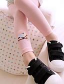 baratos Calças & Leggings para Meninas-Para Meninas Calças Todas as Estações Algodão Casual Activo Azul Branco Rosa