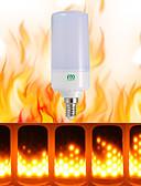 tanie Stal nierdzewna-YWXLIGHT® 1szt 5W 400-500lm Żarówki LED kulki 99 Koraliki LED SMD 3528 Dekoracyjna Ciepła biel 85-265V