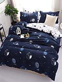 preiswerte Kleider in Übergröße-Bettbezug-Sets Blumen Zeitgenössisch 4 Stück Polyester / Baumwolle Reaktivdruck Polyester / Baumwolle 4-teilig (1 Bettbezug, 1 Bettlaken,