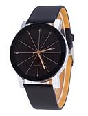 preiswerte Quartz-Herrn / Damen Armbanduhr Chinesisch Chronograph Leder Band Freizeit / Modisch / Minimalistisch Schwarz / Edelstahl / Sony 377