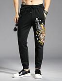 זול חולצות לגברים-בגדי ריקוד גברים פעיל מכנסי טרנינג מכנסיים דפוס, חיה