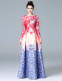 preiswerte Hochzeitsschleier-Damen Hülle Kleid Einfarbig Maxi