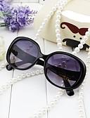 זול שמלות נשים-משקפיים אביב, סתיו, חורף, קיץ פלסטיק יוניסקס - שחור ורוד מסמיק
