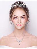 preiswerte Kopfbedeckungen für Damen-Damen Grundlegend Kristall Stirnband - Klassisch Braut&Bräutigam Stil