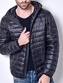 ieftine Blazer & Costume de Bărbați-Bărbați Casul / Zilnic Mată Căptușit, Nailon Manșon Lung Roșu Vin / Gri Deschis / Bleumarin XL / XXL / XXXL
