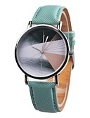 cheap Quartz Watches-Women's Sport Watch Chinese Chronograph / Casual Watch Leather Band Casual / Fashion / Elegant Black / Brown / Green / Stainless Steel / Sony 377