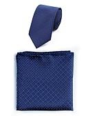 olcso Férfi nyakkendők és csokornyakkendők-Férfi Jacquardszövet Alkalmi - Nyakkendő