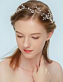 preiswerte Kopfbedeckungen für Damen-Damen Imitierte Perlen Stirnband - Klassisch