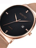 cheap Mechanical Watches-Women's Wrist Watch Japanese Quartz 30 m Calendar / date / day Cool Stainless Steel Band Analog Fashion Minimalist Black / Silver - Silver Rose Gold / White Black / Rose Gold One Year Battery Life