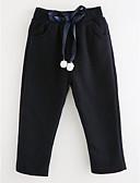preiswerte Hosen & Leggings für Mädchen-Mädchen Hose Solide Baumwolle Herbst Einfach Rosa Marineblau Grau