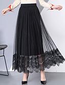 זול חצאיות לנשים-אחיד - חצאיות כותנה צינור בגדי ריקוד נשים
