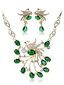 cheap Women's Hats-Women's Jewelry Set - Gold Plated Bohemian, Fashion Include Bridal Jewelry Sets Green For Wedding Ceremony
