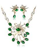 olcso Női szoknyák-Női Ékszer szett - Arannyal bevont Bohém, Divat tartalmaz Menyasszonyi Ékszerek Zöld Kompatibilitás Esküvő Ünnepség