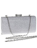 cheap Panties-Women's Bags Polyester Evening Bag Crystals Gold / Silver