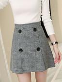 cheap Women's Skirts-Women's Casual A Line Skirts - Striped