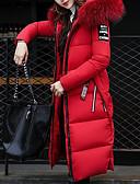 cheap Women's Fur & Faux Fur Coats-Women's Faux Fur Padded - Solid Colored / Letter