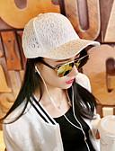 cheap Women's Hats-Women's Work Cotton Lace Sun Hat Baseball Cap - Solid Colored Stylish