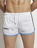 זול מכנסיים ושורטים לגברים-בגדי ריקוד גברים רגיל ישר מכנסיים אחיד / מילה