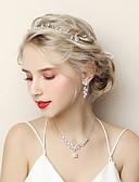 رخيصةأون فساتين حفلات-للمرأة مكعب زركونيا مجموعة مجوهرات - موضة تتضمن أبيض من أجل زفاف خطوبة