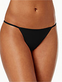 cheap Panties-Women's Cotton G-strings & Thongs Panties Solid Colored Mid Waist / Going out / Sexy