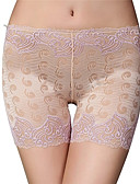 cheap Panties-Women's Shorties & Boyshorts Panties - Lace / Cut Out, Embroidered Low Waist / Summer / Going out