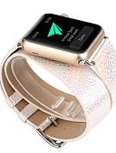 billige AirPods Cases-Klokkerem til Apple Watch Series 5/4/3/2/1 Apple Moderne spenne Ekte lær Håndleddsrem