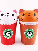 cheap Bikinis-LT.Squishies Squeeze Toy / Sensory Toy Stress Reliever Food&Drink Cat Coffee Cup Stress and Anxiety Relief Office Desk Toys Relieves ADD, ADHD, Anxiety, Autism 1 pcs Classic Kid's Adults' Unisex