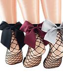 זול גרביים וגרביונים-בגדי ריקוד נשים דק גרביים - חלול, לגזור קשת מידה אחת / ליציאה