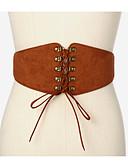 preiswerte Hüte-Damen Aktiv Grundlegend, Stoff Weiter Gürtel - mit Schnürung Solide