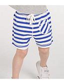 preiswerte Hosen für Jungen-Kinder Shorts Gestreift Sommer Blau Grün Rote Gelb