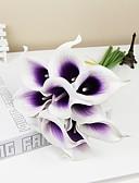 preiswerte Abendkleider-Künstliche Blumen 6 Ast Pastoralen Stil Calla-Lilien Tisch-Blumen