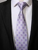 abordables Corbatas y Pajaritas para Hombre-Hombre Corbata - Trabajo Casual Geométrico