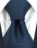 זול עניבות ועניבות פרפר לגברים-עניבת צווארון - אחיד משי עבודה בסיסי בגדי ריקוד גברים