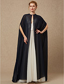 cheap Wedding Wraps-Sleeveless Chiffon Wedding / Party / Evening Women's Wrap With Button Capes